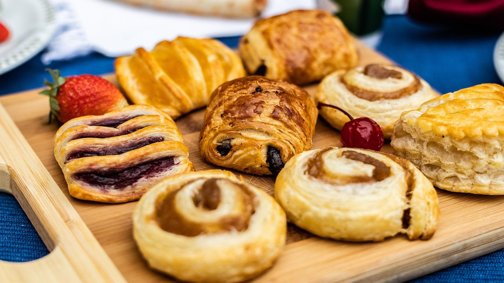 As melhores cestas de café da manhã é na Galeria dos Pães